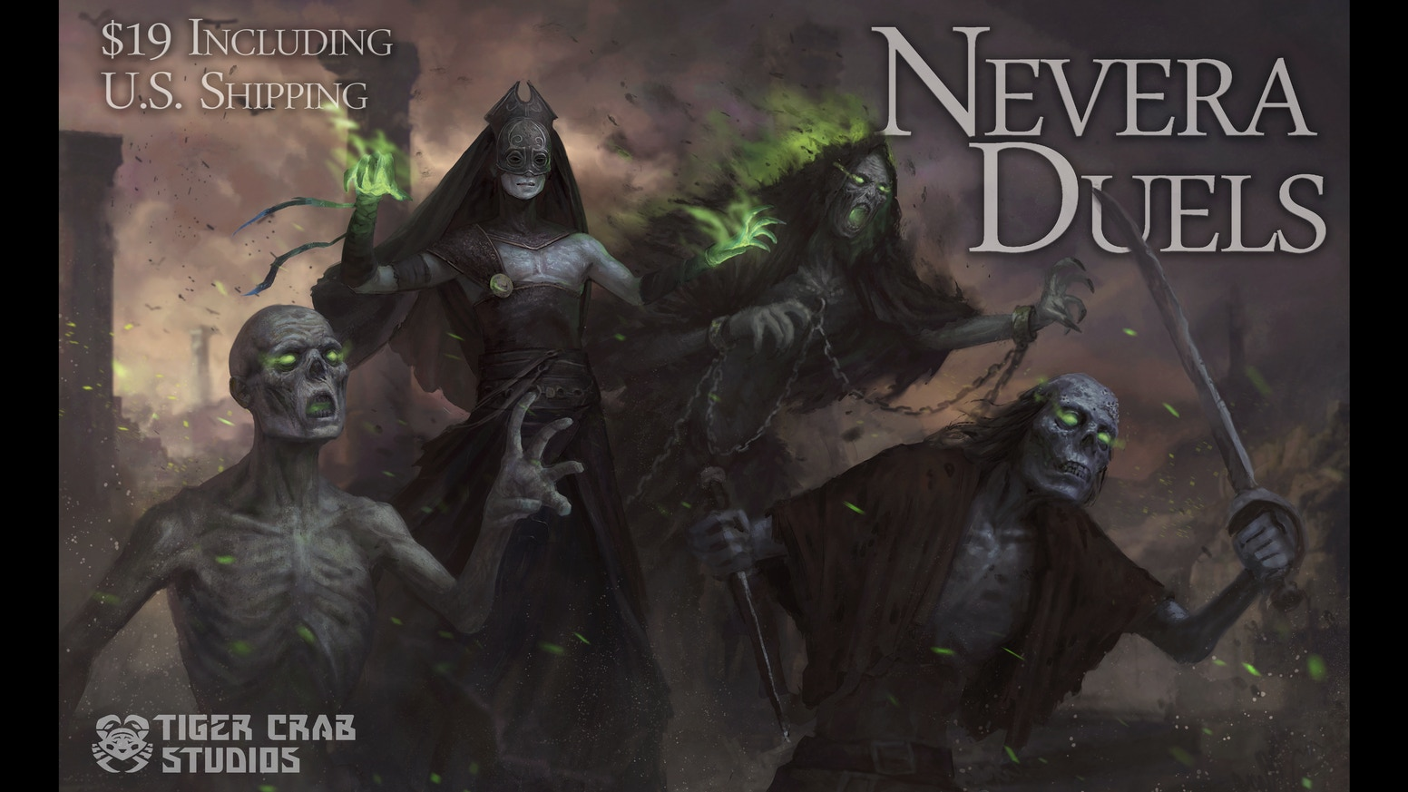 Nevera Duels: A Necromancer Card Game by Tiger Crab Studios