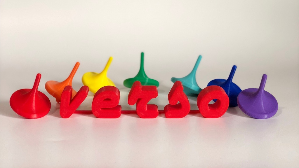 Verso - a Durable, Biodegradable Spinning Top project video thumbnail