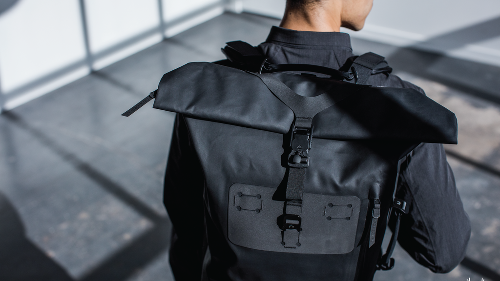 THE MODERN WATERPROOF ROLLTOP BACKPACK REDEFINED project video thumbnail