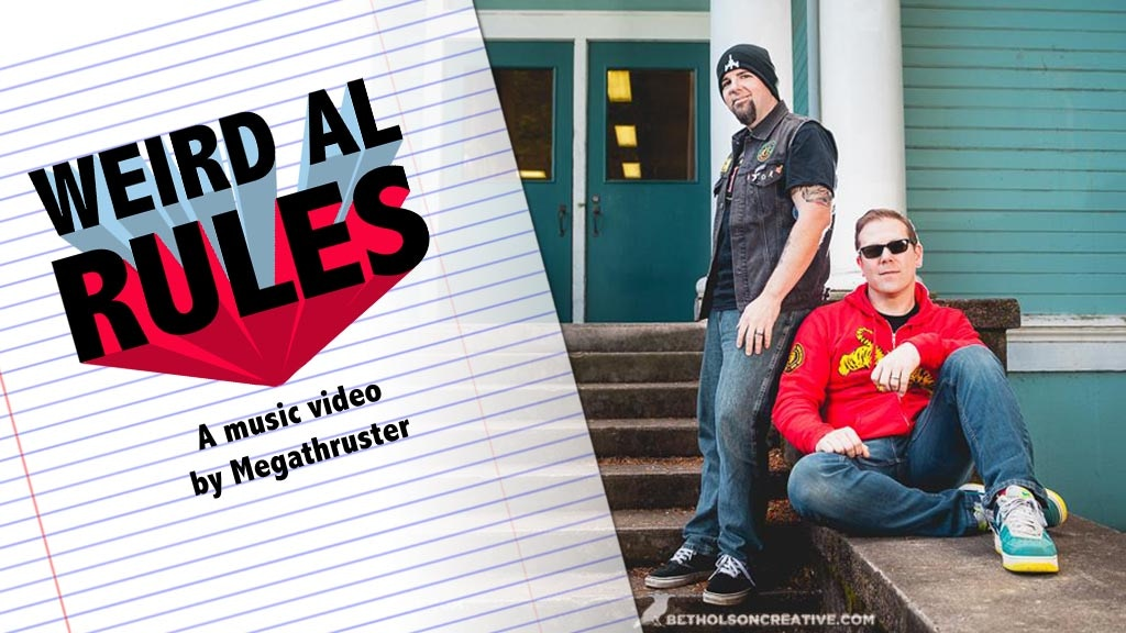 """""""Weird Al Rules"""" Music Video project video thumbnail"""