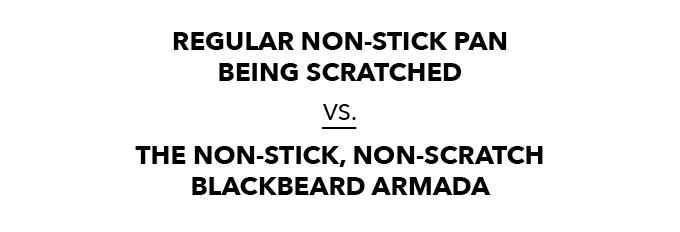 Blackbeard cookware set: chef-grade, nonstick and
