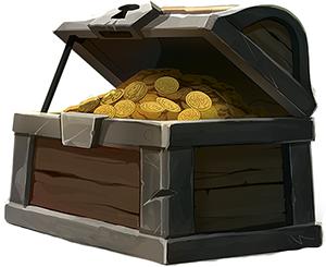 Treasure Chest, by Lynda Mills
