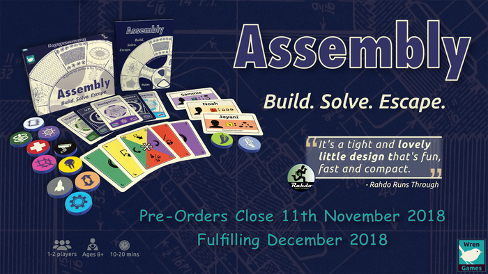 A HUGE thank you to all our backers! :-D Assembly is now available on Amazon.co.uk and .com as well as directly from our store.