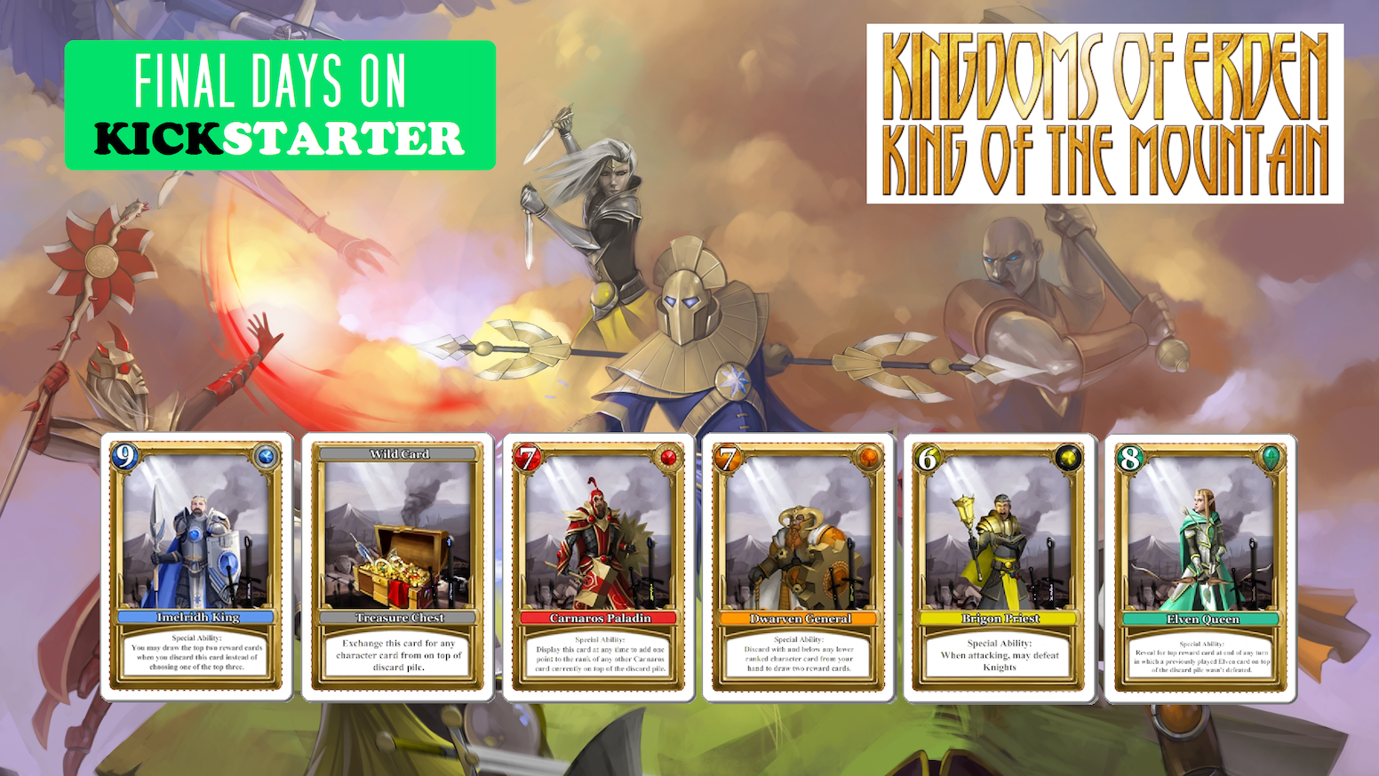 Kingdoms of Erden: King of the Mountain: Mercenary Expansion by Tim