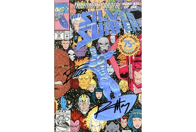 Silver Surfer #75 Signed by Ron Marz and Ron Lim!