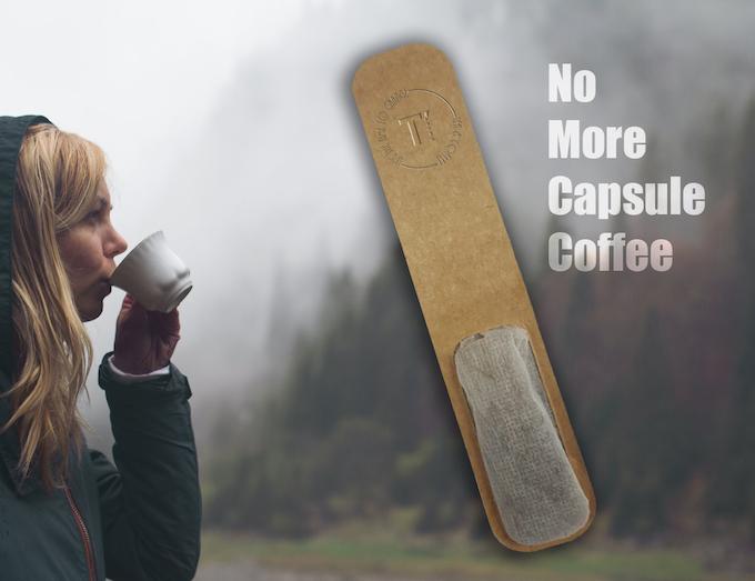 No more capsule coffee