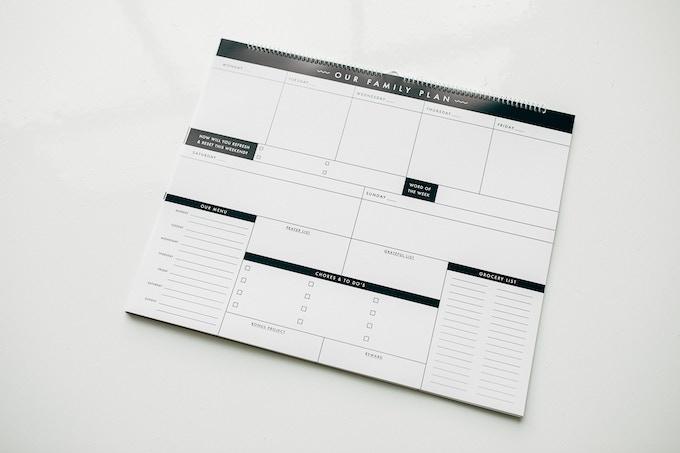 the family plan calendar by t j mousetis kickstarter