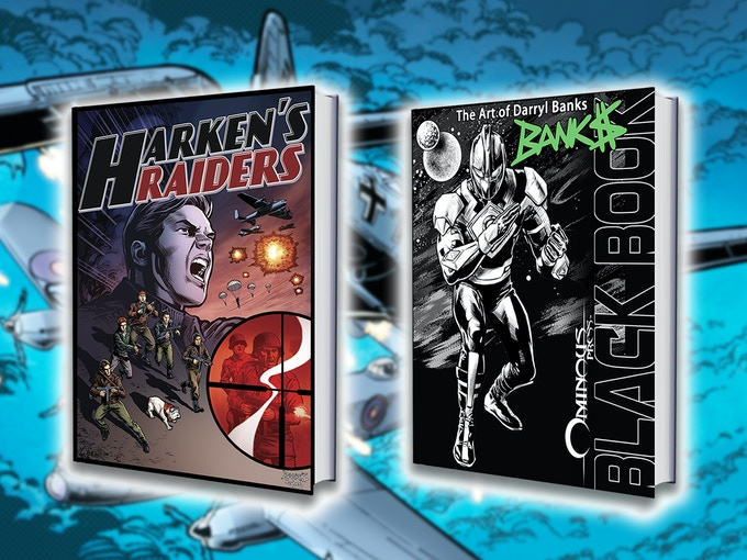 Harken's Raiders and Black Book: The Art of Darryl Banks