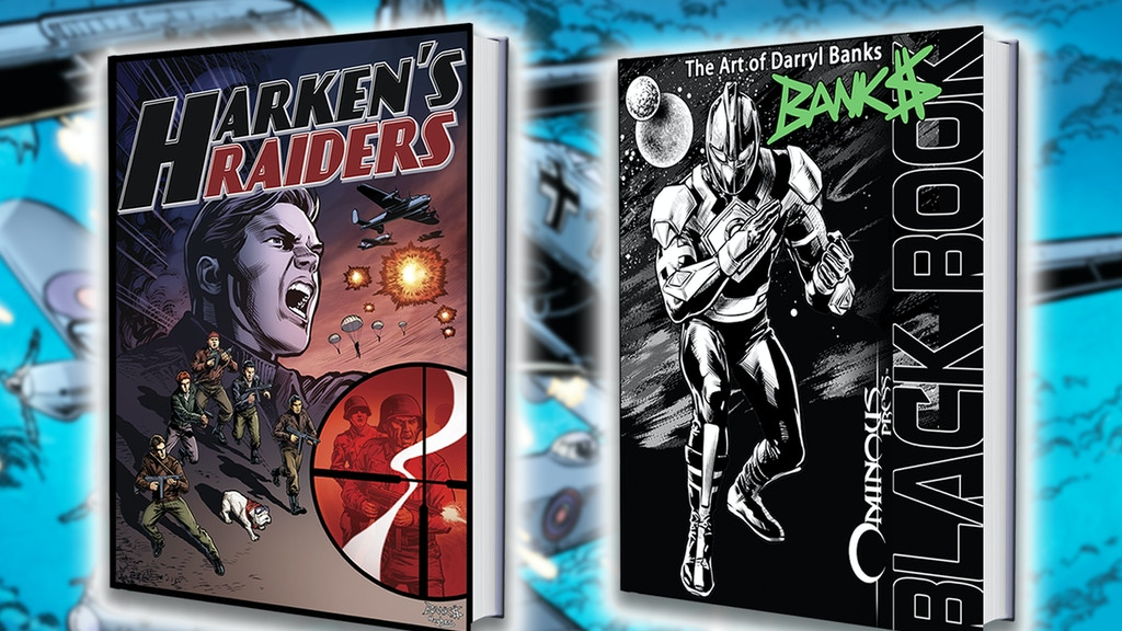 Ron Marz, Darryl Banks Team for WW2 Harken's Raiders Comic project video thumbnail