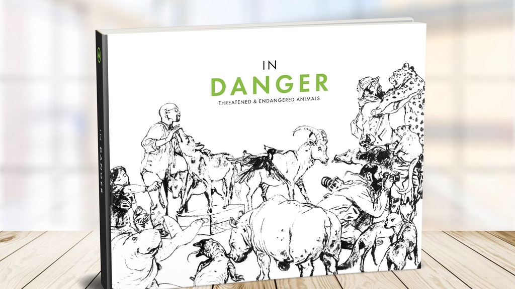 In-Danger Book: Artists United for Wildlife Conservation project video thumbnail