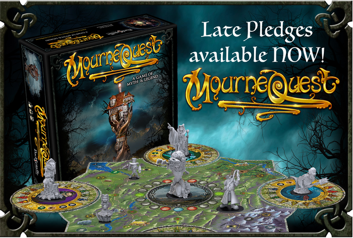 A boardgame based on the Irish fantasy novels by Garry McElherron