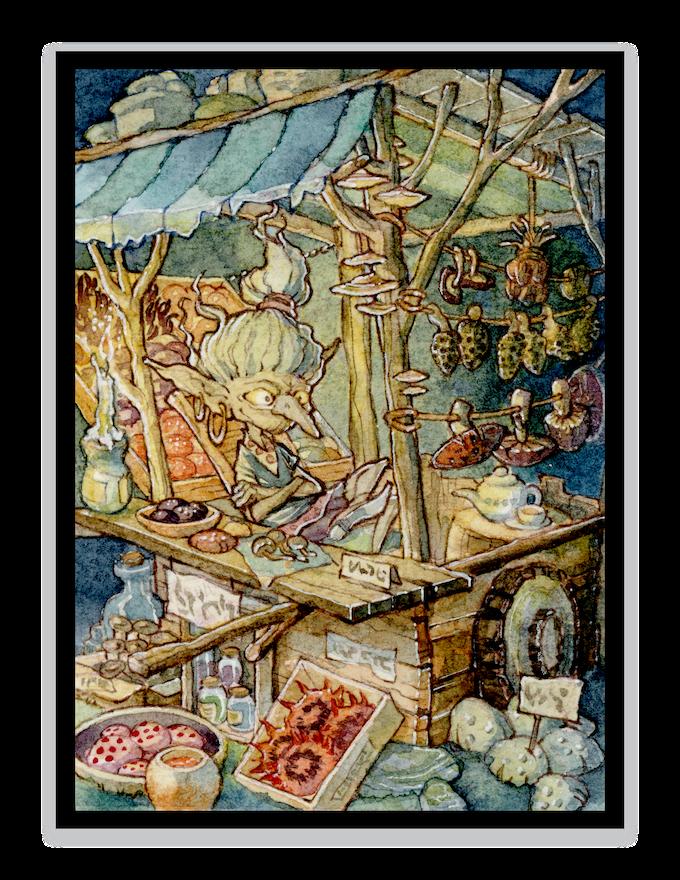 """The Goblin Night Market"" - stretch goal"