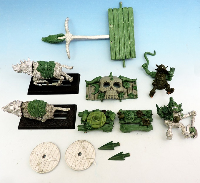 Chariot components