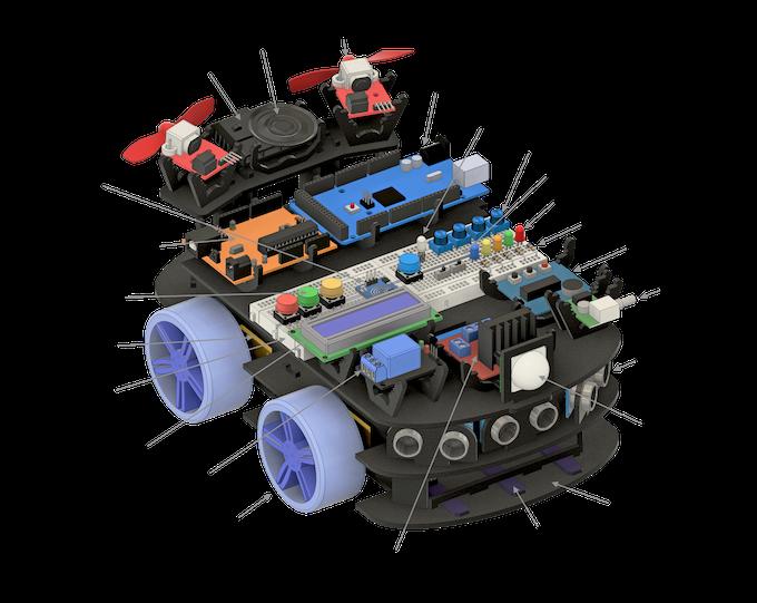 Fully Assembled Creator Bot