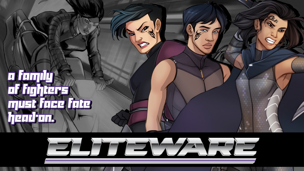 ELITEWARE: A Sci-fi Cyberpunk Comic Book Universe project video thumbnail