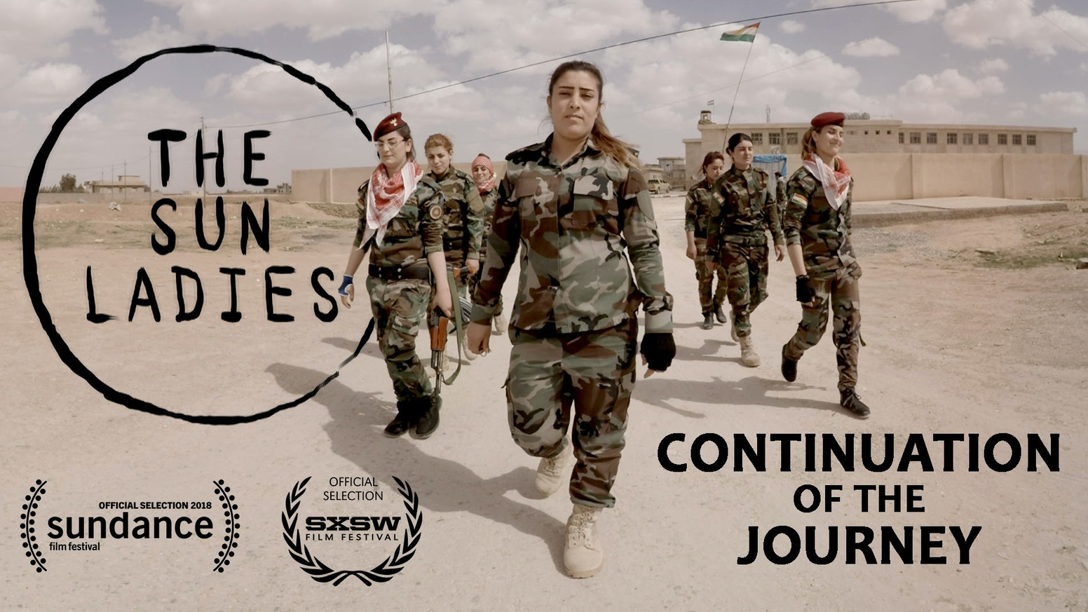 """The Sun Ladies"" is a VR documentary about the yazidi women who escaped sex slavery and joined the army to fight against ISIS in Iraq."