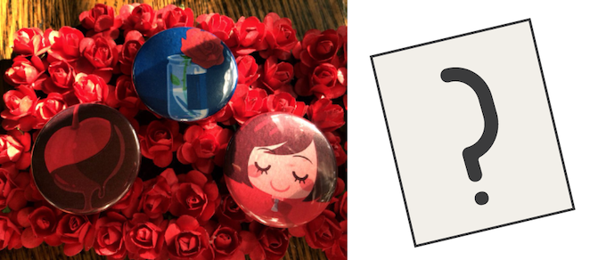 (Roses not included.)