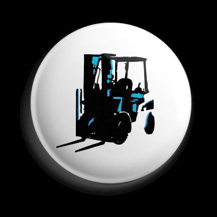Working Class Press logo pin (blue)