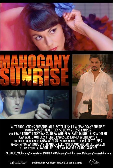 Mahogany Sunrise Feature Film Neo Noir Romance Action By Scott