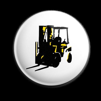 Working Class Press logo pin (yellow)