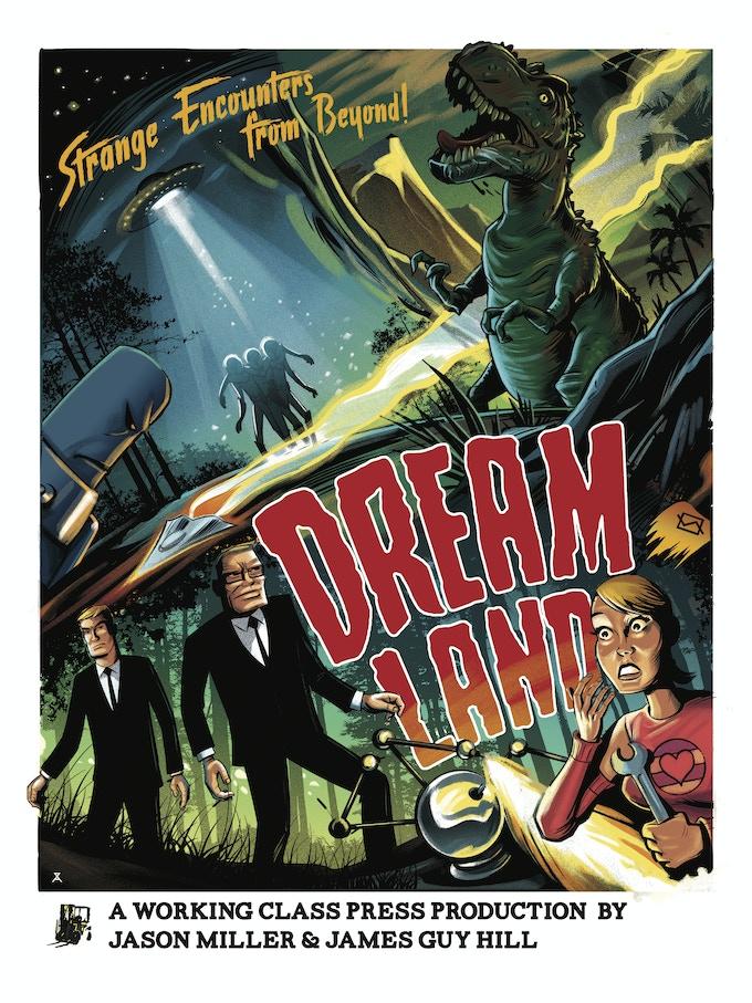 Dreamland poster by Alex Zablotsky 18x24 matte finish (full color)