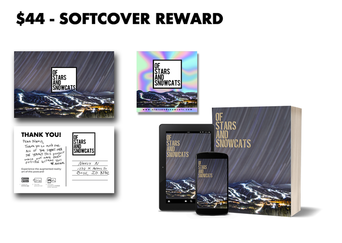 Receive this Softcover Reward with a pledge of $44 or more