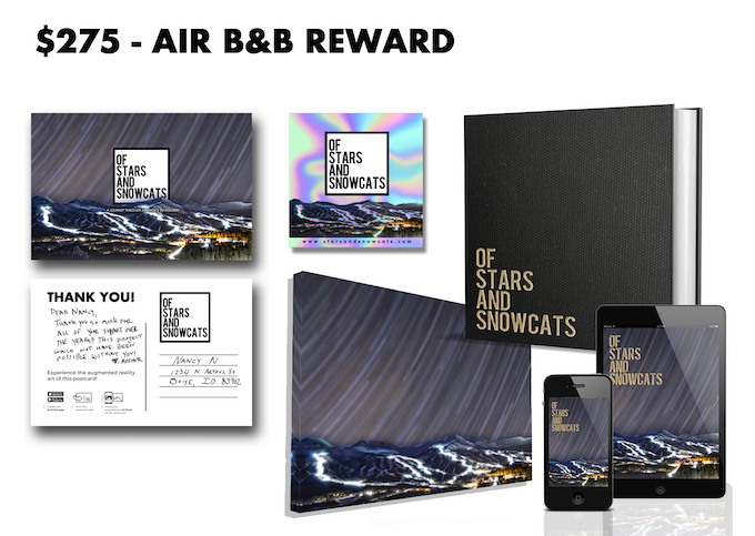 Receive this Air B&B Reward with a pledge of $275 or more