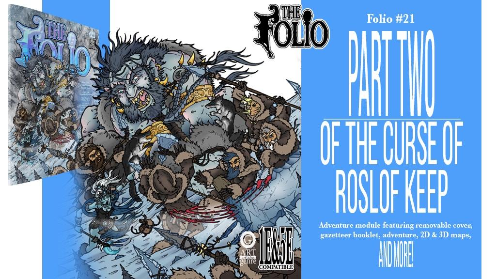 The Bane of Roslof Keep high level 1E & 5E gaming adventure project video thumbnail