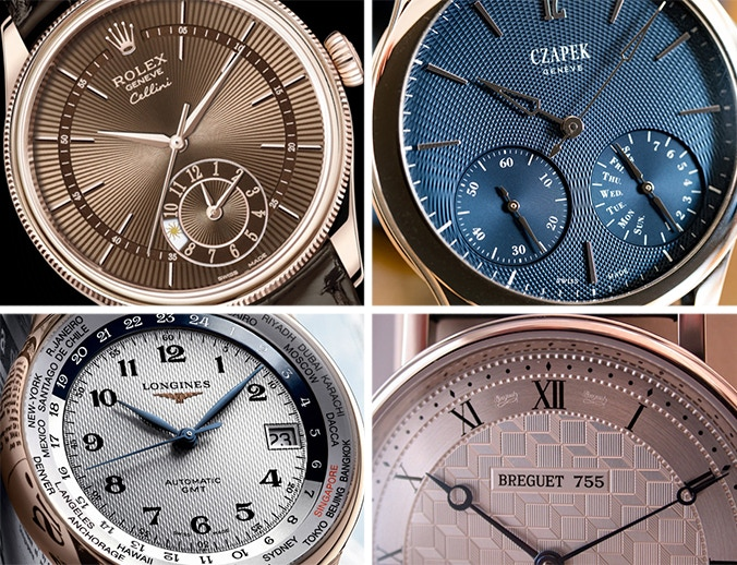 Guilloché designs, beautifying many premium Swiss watches!