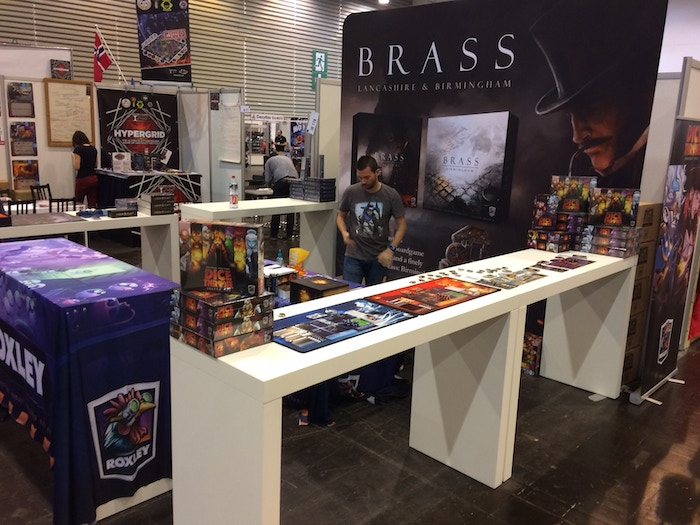 Essen Booth before the show begins!