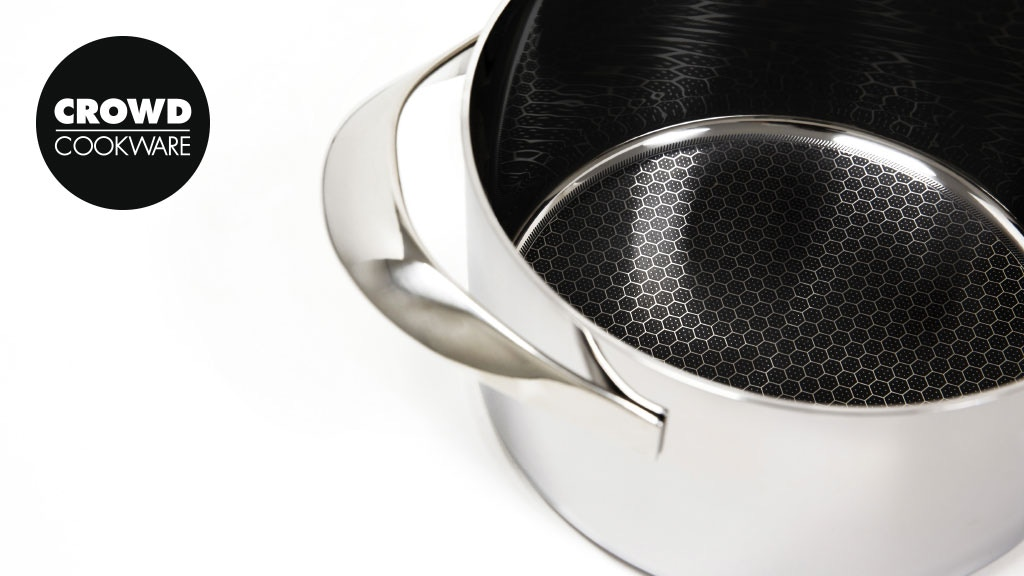 Blackbeard cookware set: chef-grade, nonstick and nonscratch project video thumbnail