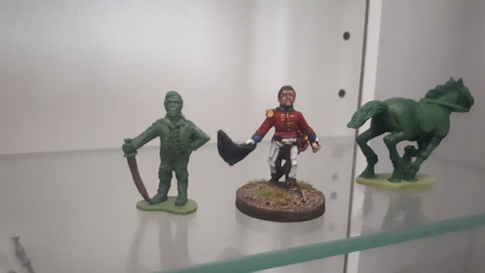Comparison - Mythical Miniatures and Wargames Foundry