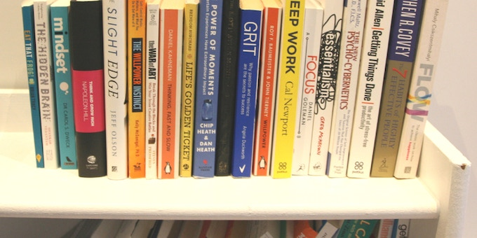 Some of the books that have influenced this project.