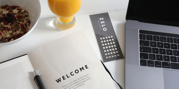 The Zelo Journal is flexible and helps you build positive habits.