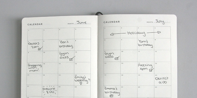 Make a note of any key dates.