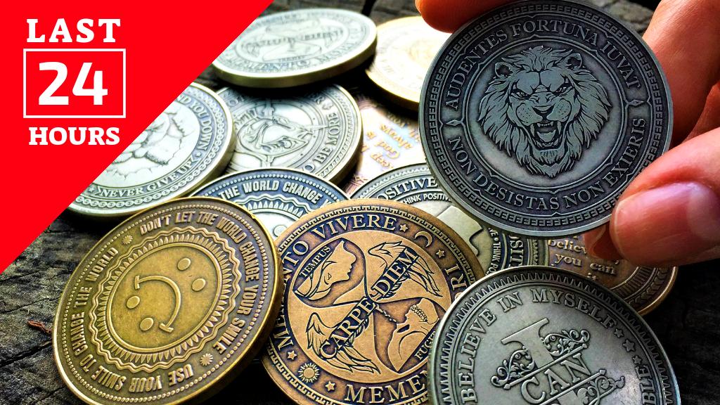 Edc Reminder Coins By Cupisco Kickstarter