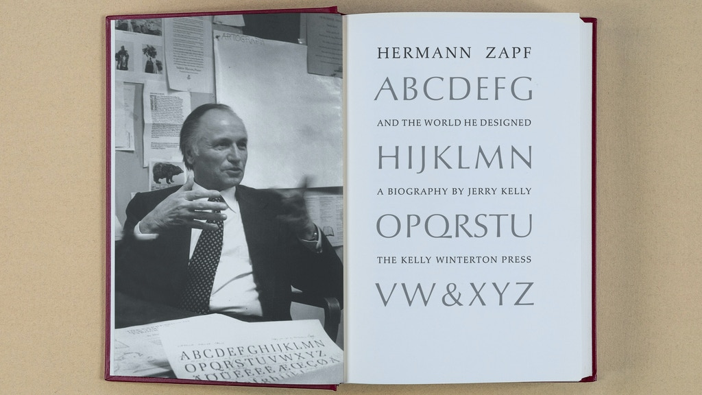 Hermann Zapf & the World He Designed project video thumbnail