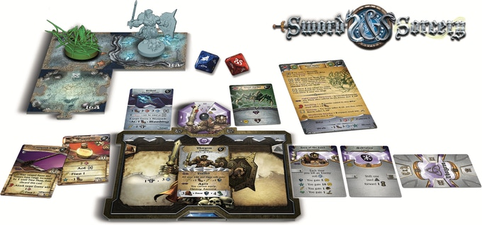 Click on the image to read an overview of the key features of Sword & Sorcery on Ares Games' website