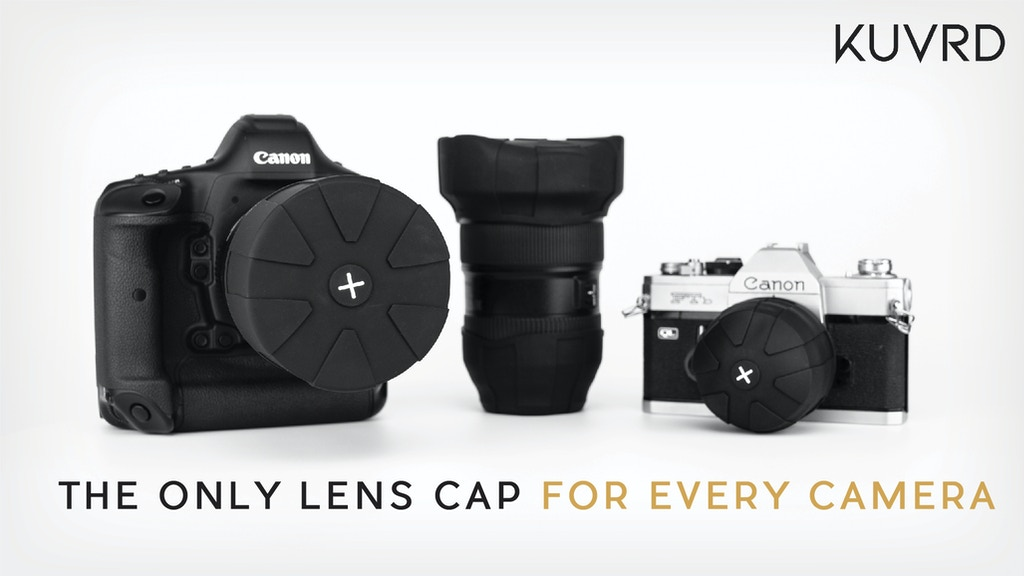 Miniature de la vidéo du projet Universal Lens Cap 2.0 - The Only Lens Cap for Every Camera.