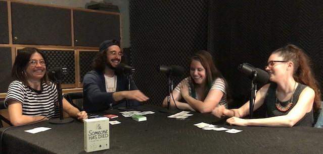 From left to right: Julia Shiplett, Ben Wasserman, Chalsea Taylor, & Carolyn Busa  Listen to Episode 4