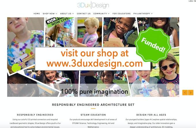 visit the 3DuxDesign website
