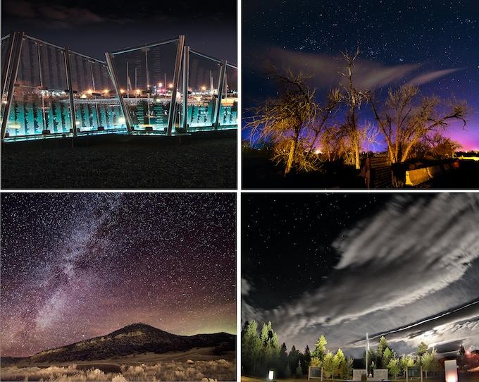 The four images you'll get as a bonus!