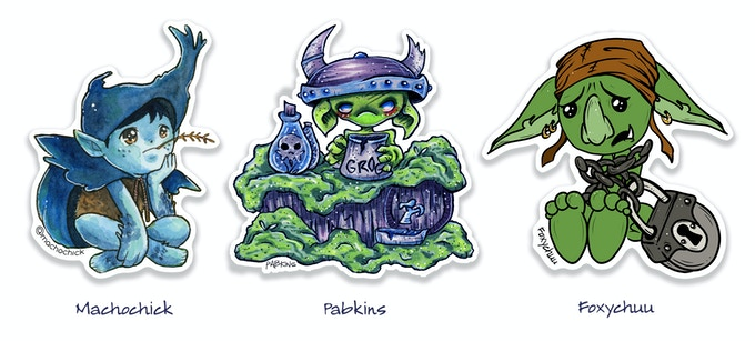 Stickers to make mischief with!
