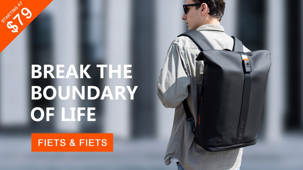 Fiets & Fiets - A Versatile Backpack For Everyday Adventure project video thumbnail