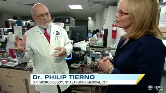 ABC news sources: NYU Langone Medical Centre Dr. Philip Tierno