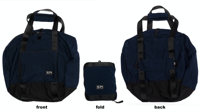 99% Permanent Germs Killing Foldable Shoulder Bag - Navy
