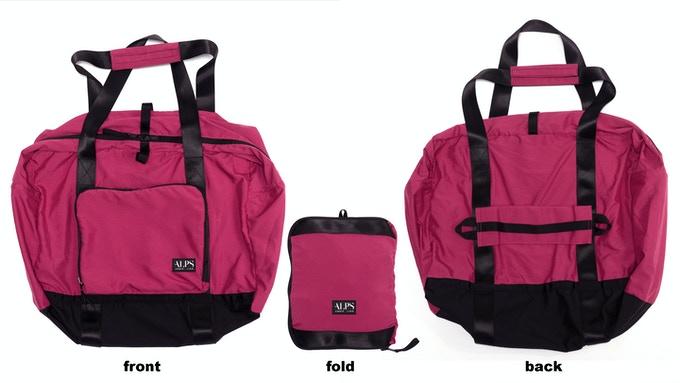 99% Permanent Germs Killing Foldable Shoulder Bag - Fuchsia