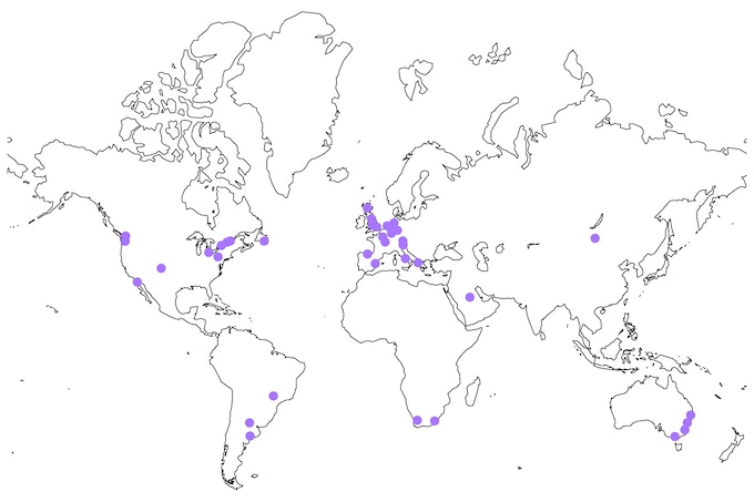 Community members from 19 different countries participated in making the Kickstarter video