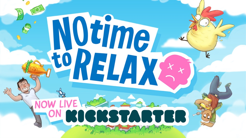 No Time to Relax project video thumbnail