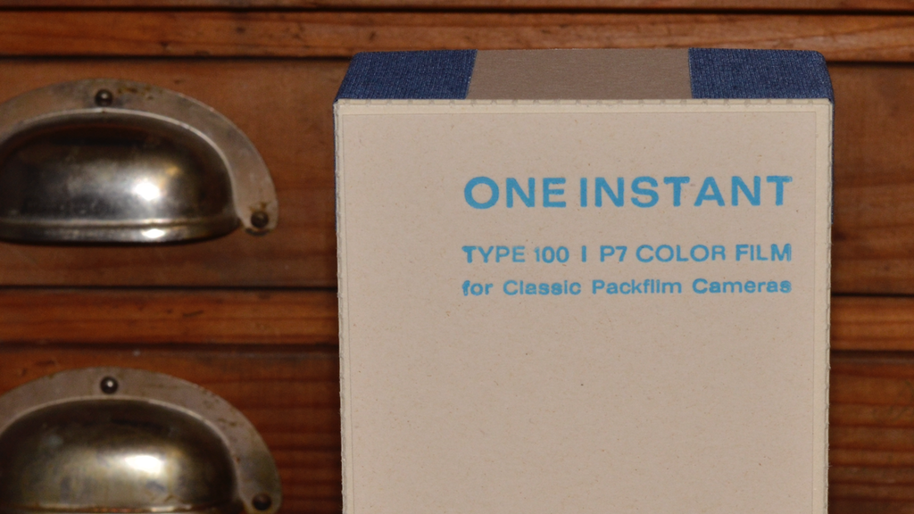 ONE INSTANT. Analog packfilm re-invented